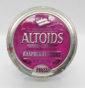Altoids Raspberry Sours Collectible Discontinued Tin Brand New Factory Sealed