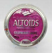 Altoids Raspberry Sours, Collectible Discontinued Tin, Brand New Factory Sealed