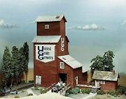 Campbell Scale Models Ho Scale Grain Elevator | Bn | 384