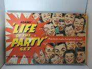Ss Adams Life Of The Party Deluxe Gag Set Super Rare Mib + Sign Collection 1957