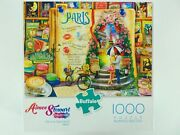Aimee Stewart Collection Life Is An Open Book Paris 1000 Piece Puzzle Buffalo