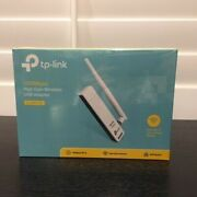 Brand New Sealed Tp-link Tl-wn722n 150mbps High Gain Wireless Usb Adapter