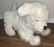 Fur Real Friends Cookie My Playful Pup White Dog Furreal Interactive Hasbro