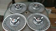 Vintage 14 Inch Ford Spinner Wheel Covers