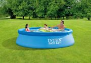 Intex 10 X 30 Easy Set Above Ground Swimming Pool W/ Filter Pump