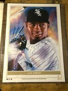 2020 Topps Game Within The Game Luis Robert 1/1 Chicago White Sox 10x14 Print