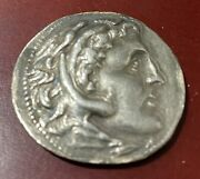 Alexander The Great Tetradrachm Island Of Rhodes Mint Civic Issue 16.8 G
