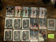 16-card Keldon Johnson Rookie Lot, All Straight To Penny Sleeve And Top Loader