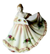 Royal Doulton Pretty Ladies Charlotte Figurine Old Country Roses A
