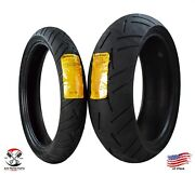 Continental Sport Attack 3 110/70zr17 Front 190/50zr17 Rear Motorcycle Tires Set