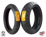Continental Road Attack 2 Evo 120/70zr17 Front 180/55zr17 Rear Motorcycle Tires