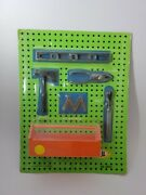 Vintage Ideal Miniature Tools With Tool Box 1960's Rare