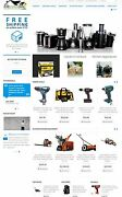 Home And Garden Tools Store Website - Affiliate Dropshipping Store