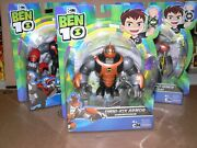 New Ben 10 Collectable Action Figures Cartoon Network, Playmates Toys Lot