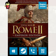 Total War Rome Ii 2 Emperor Edition For Pc Game Steam Key Region Free