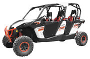 Dragonfire Racing Utv Door Kits For Can-am Maverick Max 1000r 2014-2018 Black