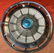 1962 62 Chevy Ii Nova Corvair Impala 14 Hubcap Wheelcover Cover Cap Vintage Oem