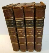 The Works Of Mr. Thomas Brown In Prose And Verse... 4 Vol. 1707-1711 Briscoe
