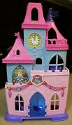 Fisher-price Little People Disney Princess Musical Dancing Castle Only No Figure