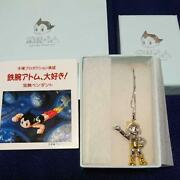 Astro Boy Pendant Sterling Silver Topaz Tezuka Productions 3.5 Cm From Japan