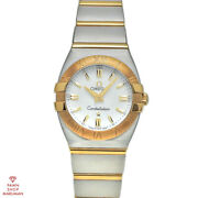 Omega Constellation Double Eagle 1381.70 Quartz Stainless Ladies Watch [b0316]