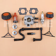 Carburetor Gas Cap Line Kit For Stihl 034 036 Ms340 Ms360 Chainsaw Carb Tune-up
