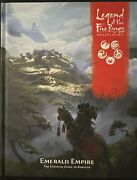 Legend Of The Five Rings Rpg Emerald Empire Adventure Module Book Ffg Hc