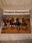 Frederic Remington Art Book Western America Cowboys Hassrick Illustrated Foldout