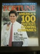 Fortune Magazine October 1991 Michael Dell 26 Years Old Leads Computer Firm F8