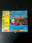 Vintage Rare Bausatz 341 A Ho Model Kit And Fire Trucks New In Open Box