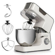Deco Chef 5.5 Qt Kitchen Stand Mixer 550w 8-speed Motor W/ Mixing Attachments