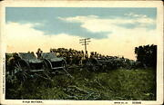 Wwi Era Us Army Military Field Battery Artillery Equipment And Soldiers