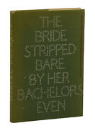 The Bride Stripped Bare By Her Bachelors Even Marcel Duchamp First Edition 1960