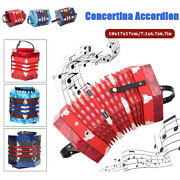 Professional Concertina Accordion Musical Instrument Supplies With Carrying Bag
