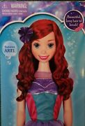 Ariel My Size Doll - Over 3 Ft. - 2013 - New Disney - Rare - Different Dress