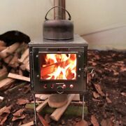 Wood Stove Outdoor Ultralight Titanium Alloy Detachable Camping Tent Heating Sto
