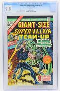 Giant -size Super-villain Team-up 1 Cgc 9.8 White Pages