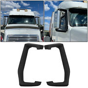 For Volvo Vnl Truck 2004-2018 Left Right Side Pair Mirror Arm Cover