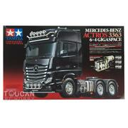 Tamiya 540 Motor 56348 Benz Actros 3363 6x4 Gigaspace 1/14 Rc Tractor Truck Kit