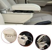 Universal Multifunction Car Center Console Armrest Box With 7 Usb Ports ,beige