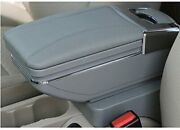Universal High-end Car Armrest Center Console Box,with 7 Usb Charging Port Gray