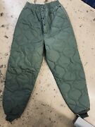 Usaf Air Force Cwu-9/p Liner Flyers Trousers Flyers Quilted Pants Medium