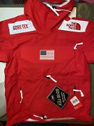 Supreme The Trans Antarctica Expedition Jacket Color Red Menand039s Large