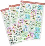 Inspring Bible Tabs Floral Adhesive Stickers For Indexing 72 Pieces 66 Books 6