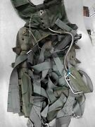 Us Military Back Parachute Ejection Seat Harness Navy 1
