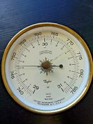Antique Taylor Instruments Weather Barometer - Rochester Ny - 5 Inch - Very Cool