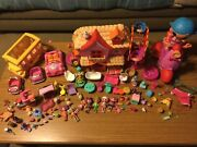 Huge Piece Lalaloopsy Mini Doll Lot Dolls Accessories Pets Train,,remote Scooter