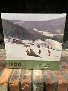 Springbok Jigsaw Puzzle Country Christmas 1500 Pieces New Sealed