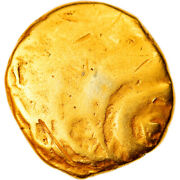 [906022] Coin Groupe De Normandie 1/4 Stater Very Rare Vf Gold