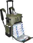 X-large 'recon' Rolling Fishing Backpack, Tackle Box Storage Bag - Fishing Bag